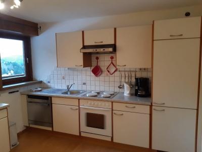 Küche Ferienwohnung Lärchenwiese
