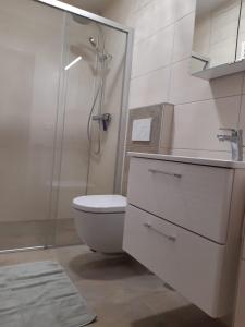 Badezimmer Ferienwohnung Reitherspitz